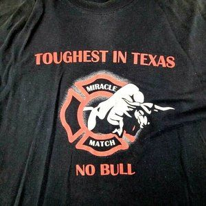 Miracle Match Wacio Texas Mens Sz XL Toughest In T